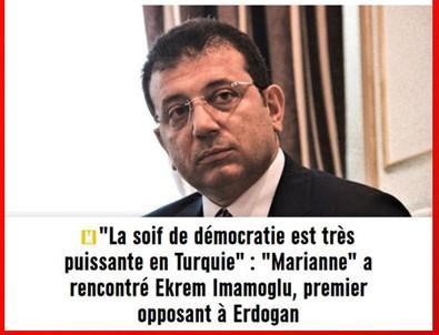 Ekrem İmamoğlu Fransız basınına Türkiye'yi şikayet etti