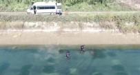 Kanalda Kaybolan Gencin Cesedi Drone İle Bulundu