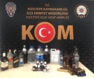 Kızıltepe'de Sahte İçki Operasyonu Açıklaması 1 Gözaltı
