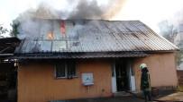 Samsun'da Bağ Evinde Yangın
