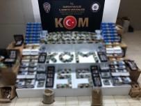 Samsun'da Kaçak Tütün Mamulü Operasyonu Açıklaması 2 Gözaltı