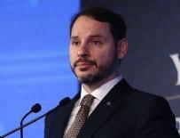 CEZAYIR - Hazine ve Maliye Bakanı Berat Albayrak'tan yeni rezerv açıklaması