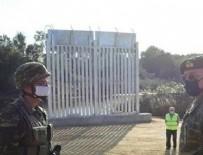 YUNANISTAN - Yunanistan'dan skandal hamle! İnsanlığa duvar örüyorlar