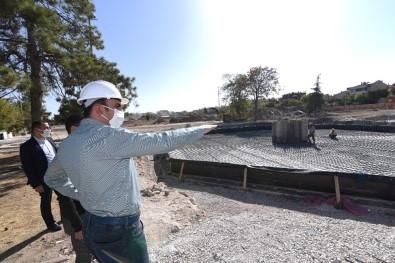 Başkan Altay Millet Bahçesi İnşaatını İnceledi