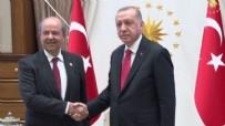 KUZEY KıBRıS TÜRK CUMHURIYETI - Başkan Erdoğan'dan Ersin Tatar'a telefon!