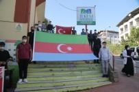 İLKEM'li Öğrencilerden Kardeş Ülke Azerbaycan'a Destek