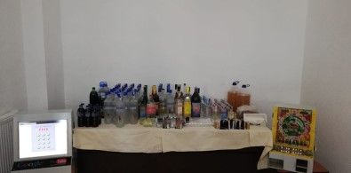Kaçak İçki Operasyonları Sürüyor