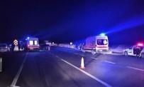 Kırşehir'de, Hafta Sonu Meydana Gelen Trafik Kazalarında 1 Kişi Hayatını Kaybetti 10 Kişi Yaralandı