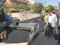 Yeşilhisar'da Sıcak Asfalt Çalışmaları Başladı