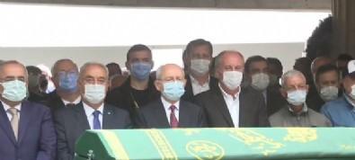 Bekir Coşkun'un cenazesinde yan yana saf tutan Kemal Kılıçdaroğlu ve Muharrem İnce birbirleriyle konuşmadı
