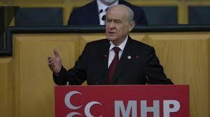 MHP Lideri Devlet Bahçeli'den çarpıcı açıklamalar!