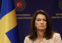 MEVLÜT ÇAVUŞOĞLU - Terör destekçisi İsveç Dışişleri Bakanı Ann Linde ayağının tozuyla eli kanlı PKK'ya heyet yolladı