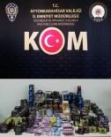 Afyonkarahisar Polisinden İşyerlerine Kaçakçılık Operasyonu