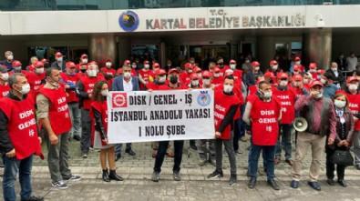 CHP'li Belediyede işçiler grevde!