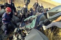 Nevşehir'de Feci Kaza Açıklaması 1 Ölü, 2 Yaralı