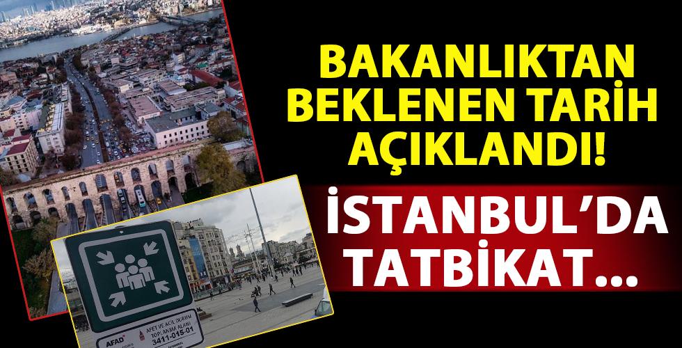 Bakanlık tarih vererek duyurdu: 3 Kasım'da İstanbul'da...