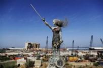 LÜBNAN - Beyrut'ta patlama alanının karşısına heykel dikildi!