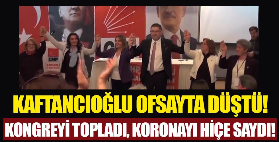 CHP'li Canan Kaftancıoğlu fena ofsayta düştü
