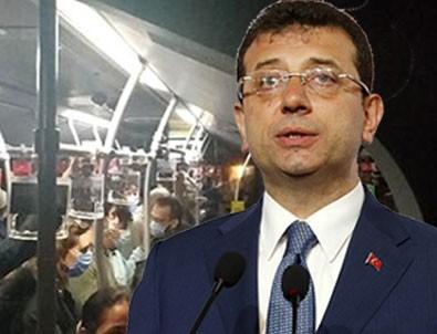 İstanbul yine bildiğiniz gibi! Metrobüs tıklım tıklım!