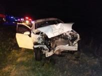 Manyas'ta Trafik Kazası Açıklaması 1 Ölü, 2 Yaralı