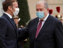 FRANSA - Sarkisyan Macron'un sarayında!