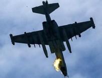 ERMENISTAN - Ermenistan'a ait savaş uçağı düşürüldü