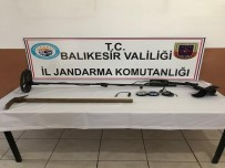 Erdek'te Kaçak Kazı Yapan Şahıs Yakalandı