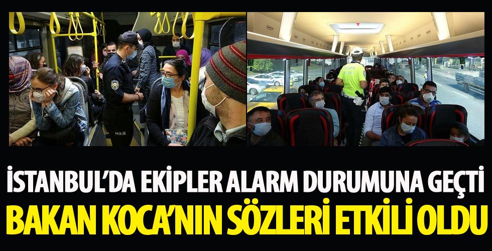 İstanbul alarmda denetimler tam gaz