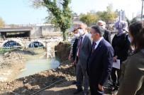Vali Atay Roma Dönemine Ait Tarihi Taş Köprüyü İnceledi