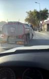 (Özel) İstanbul Trafiğinde 'Pes' Dedirten Görüntü