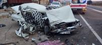 Şanlıurfa'da Trafik Kazası  Açıklaması 2 Ölü, 1 Yaralı