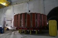 Dev Projede Elektrik Üretecek Jeneratörler Monte Edilmeye Başlandı