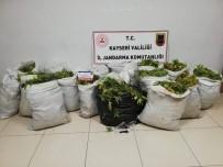 Jandarmadan Uyuşturucu Operasyonu Açıklaması 160 Kilo Yaş Kubar Esrar Ele Geçirildi