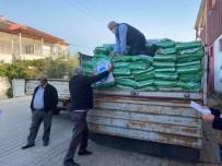 Sarıgöl'de Çiftçilere Fiğ Tohumu Dağıtıldı