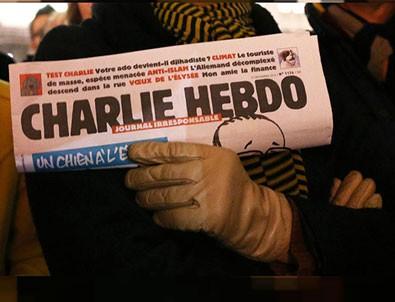 Fransız Charlie Hebdo dergisinden Başkan Erdoğan'a alçak saldırı!