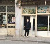 Karantinayı Delen Yaşlı Adam Bakkalda Yakalandı