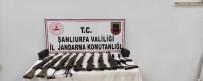 Şanlıurfa'da 8 Kalaşnikof Ele Geçirildi