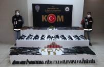 Silah Operasyonunda Adeta Cephanelik Ele Geçti Açıklaması 19 Gözaltı