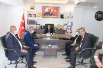 CHP'li Milletvekilleri, Cizre TSO Başkanı Sevinç İle Görüştü