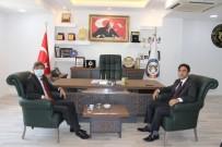 Cizre TSO Başkanı Sevinç, İpekyolu Gümrük Ve Dış Ticaret Bölge Müdürü Kök İle Görüştü