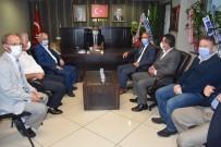 Demirtaş Ve STK'lar Başkan Bozkurt'a 'Hayırlı Olsun' A Gitti