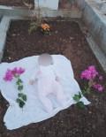 Doğduğu Gün Kaybettiği Babasının Mezarında