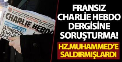 Fransız Charlie Hebdo dergisi yetkilileri hakkında soruşturma başlatıldı