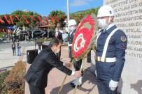 Muğla'da 29 Ekim Çelenk Sunma Töreni İle Başladı