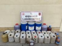 Nevşehir'de 650 Litre Sahte İçki Ele Geçirildi