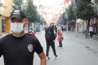 Polis Ekiplerinden Sakarya'nın En İşlek Caddesinde Maske Avı