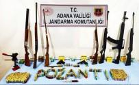 Pozantı'da Ruhsatsız Silahlar Ele Geçirildi