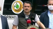 Tarım Ve Orman Bakanı Pakdemirli Açıklaması 'Hatay'daki Orman Yangını Kontrol Altına Alındı'