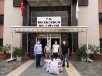 Tunceli'den Topladığı Meşe Palamutlarını  İskenderun'a Götürdü
