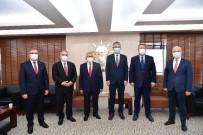 Başkanlardan Çopuroğlu'na 'Hayırlı Olsun' Ziyareti